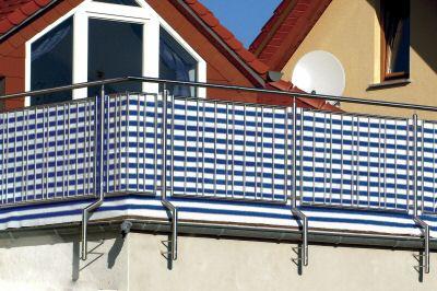 balkon sichtschutz 5m lang 90cm hoch bis 6 farben ebay. Black Bedroom Furniture Sets. Home Design Ideas