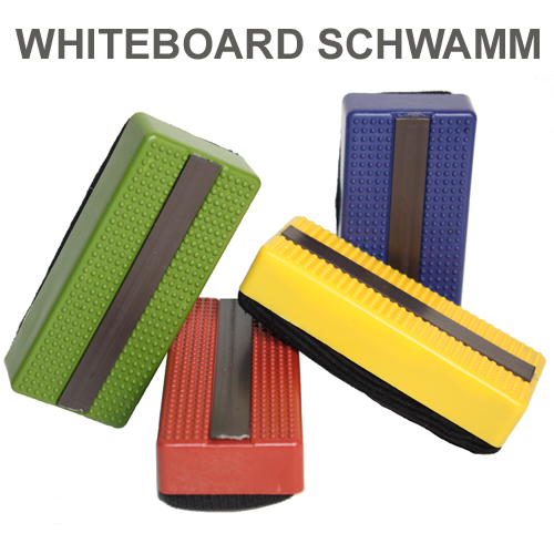 whiteboard schwamm l scher magnetisch in 4 farben ebay. Black Bedroom Furniture Sets. Home Design Ideas