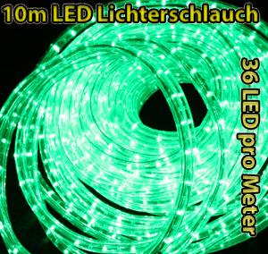 led lichterschlauch f r innen au en 10m 20m oder 50m ebay. Black Bedroom Furniture Sets. Home Design Ideas